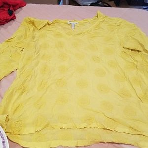 Awesome Cover Up Sun Yellow ONEILL Sz M Surf Top